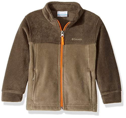 Columbia Little Boy's Steens Mountain II Fleece Jacket, Sage, Major, XX-Small