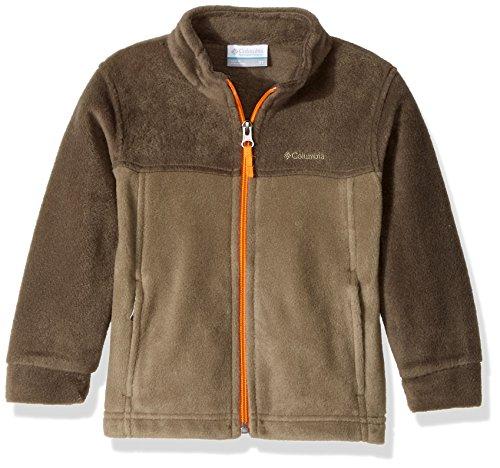 Columbia Big Boy's Steens Mountain II Fleece Jacket, Sage, Major, Medium
