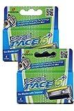 Dorco Pace 6 Plus - Six Blade Razor for Men Cartridge Refills (8 Pack) offers