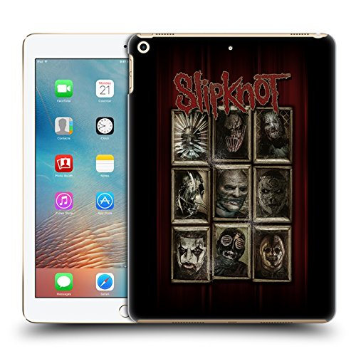 Official Slipknot Masks Key Art Hard Back Case for Apple iPad Pro 2 9.7 (Slipknot Official Masks)