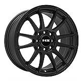 #9: NS Series 1204 Tuner Matte Black Wheel (17x7.5