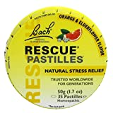 rescue cream bach - Bach Rescue Remedy Natural Stress Relief Pastilles Original Flavor 1.7 oz (Packaging may Vary)