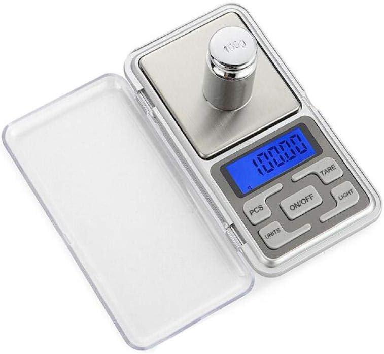 Báscula de bolsillo 100G 500G 0 01G Básculas de balanza de laboratorio de precisión digital Básculas de joyería de bolsillo Básculas electrónicas portátiles de peso de laboratorio digital-200Gx0.01G