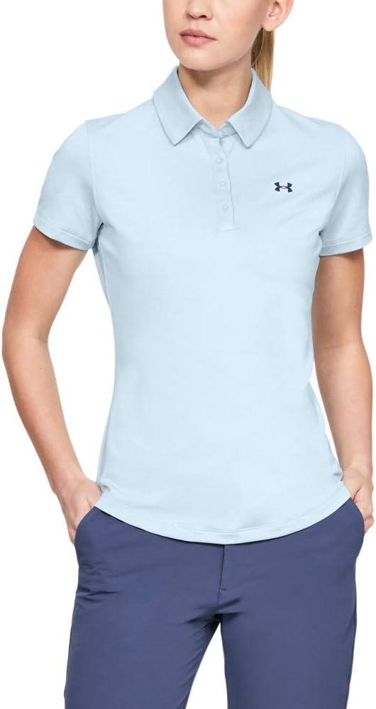 Under Armour (UNDKU) Zinger Camisa Polo, Mujer, Azul, XS: Amazon ...