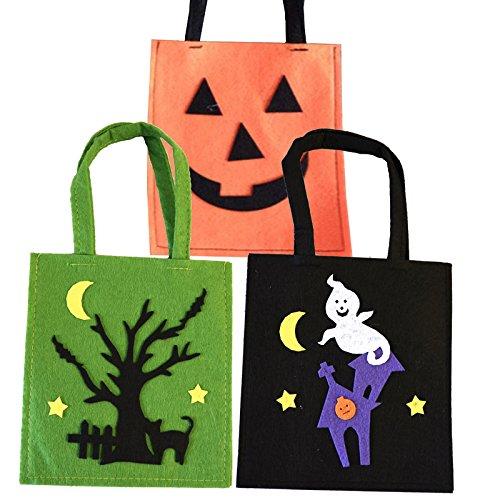 AEC AC2326 - Sac a Bonbons Happy Halloween 2 modeles Assortis Aptafêtes