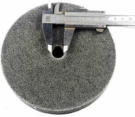 "Metal polishing wheel 6"" x 1\"" 7p Non woven abrasive wheel Nylon Fiber polishing wheel Abrasive disc"