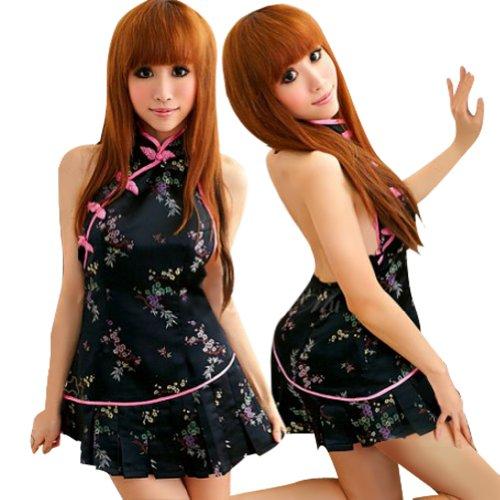 Lingeriecats Fascinating China Doll Cheongsam Costume