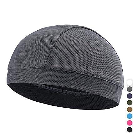 Unisex Mesh Cap Beanie Hat Breathable Outdoor Sports Hat Men Women Summer Riding Climbing Windproof Cap