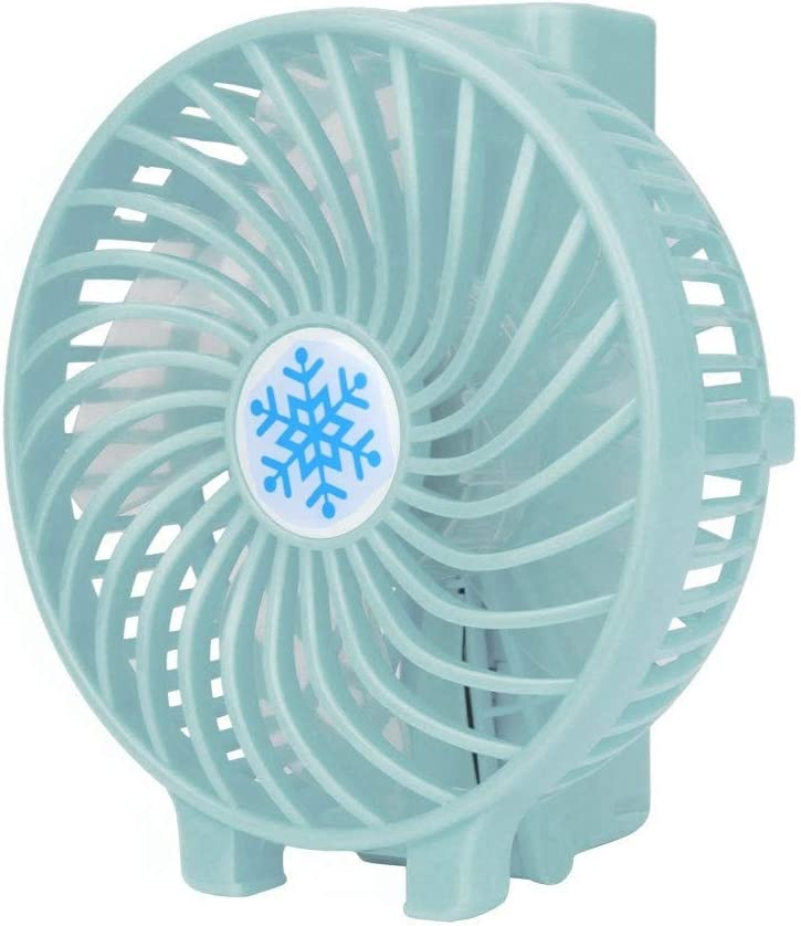 Black Uion 2019 New Portable Rechargeable Fan Air Cooler Mini Operated Hand Held USB Battery