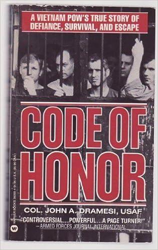 Book Code of Honor by John A. Dramesi (1990-09-08)