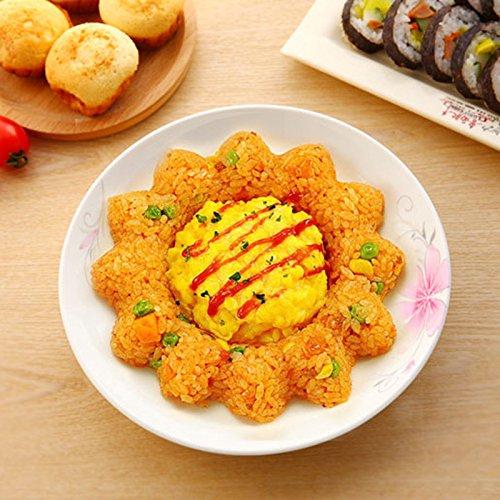 XABegin 4 sets Plastic Egg Sushi Rice Mold Mould Decorating Fondant Cake Tool by XABegin (Image #7)