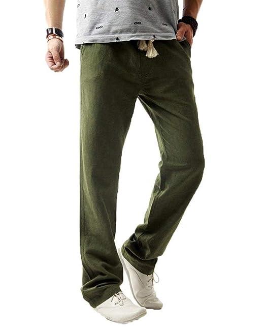 Battercake Pantalones De Jogging para Pantalones Largos De Color Hombres  Sólido Sueltos Ocasionales Cómodo Pantalones De Chándal Deportivos De  Entrenamiento ... 749707236c1c