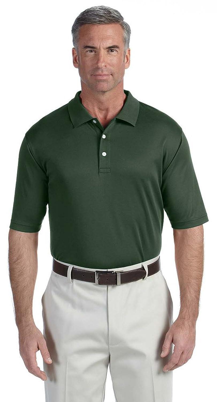 Harriton 56 oz Easy Blend Long-Sleeve Polo Shirt-XS -Hunter-