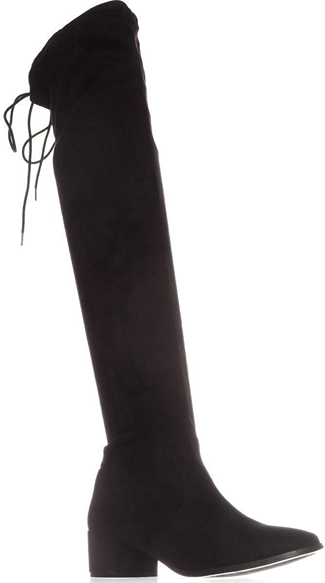 Chinese Laundry Womens Mystical Faux Suede Riding Over-The-Knee Boots