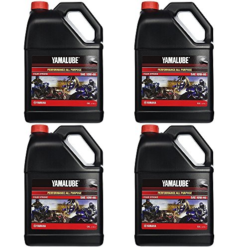 Yamalube All Purpose 4 Four Stroke Oil 10w-40 1 Gallon (4 Gallons) by YamaLube All Purpose