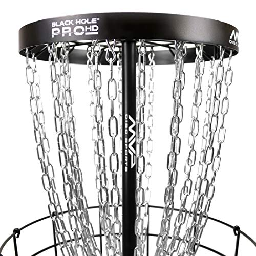 MVP Disc Sports Black Hole Pro HD V2 Disc Golf Basket