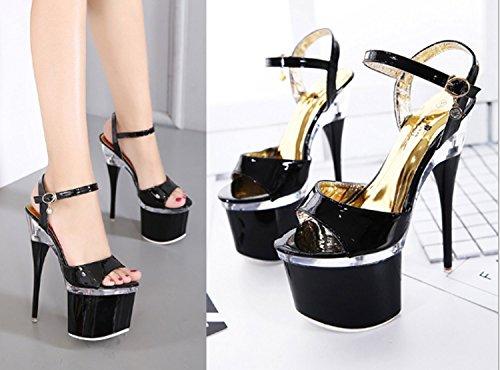 De Plataforma Alto Verano Rojo Sandalias Chanclas Tacón Moda Impermeable Mujer Zapatos w4KdyqaI4