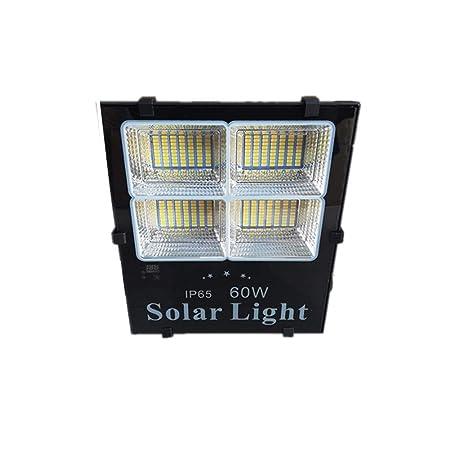 H-XH Solar Foco Proyector LED,Resistente Al Agua Jardín Patio ...