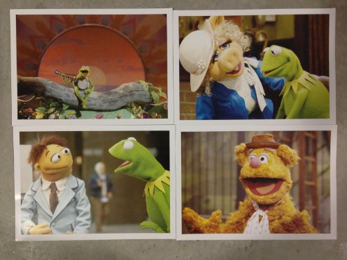Disney Exclusive Limited Edition The Muppets Lithograph Set of 4