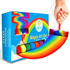 Watercolor Rainbow Magic Art Set for Gir...
