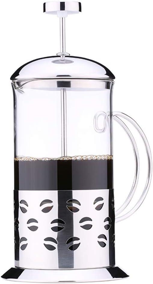 Prensa francesa cafetera con filtro, cafetera espresso de acero ...