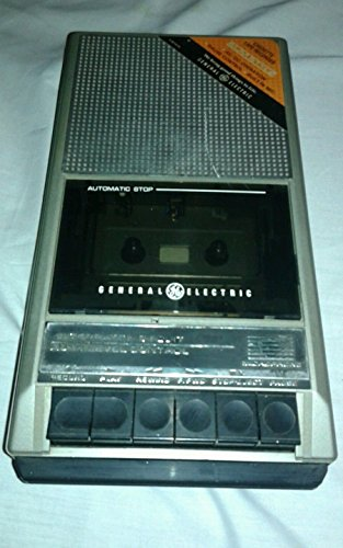 Ge General Electric 3-5016d Portable Cassette Player Recorder Works