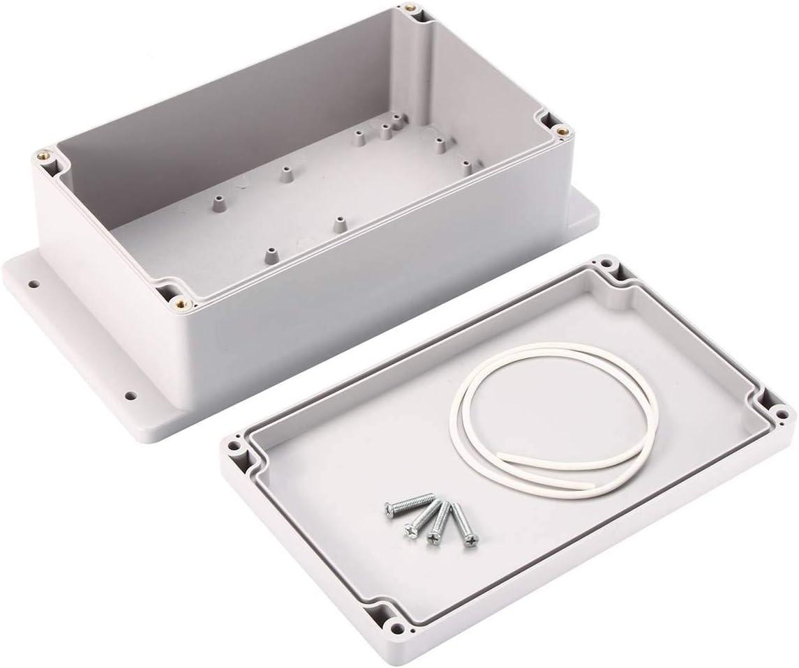 Toolstar Bo/îte de jonction Couvercle /à charni/ère 14 tailles de bo/îte de projet /électrique /étanche en plastique ABS