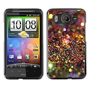 For HTC Desire HD / G10 / inspire 4GCase , Universe Stars Pattern Luxurious - Diseño Patrón Teléfono Caso Cubierta Case Bumper Duro Protección Case Cover Funda