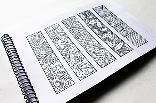 Coloring Pages Question Mark : Amazon bookmarks coloring adult coloring book volume