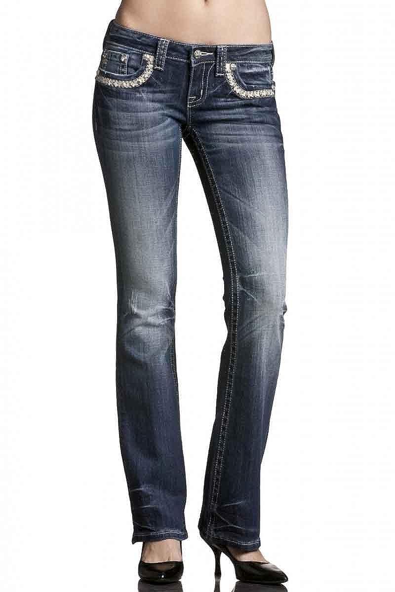 Amazon.com: Miss Me Vaqueros jw6066b MK 29b, 25: Clothing