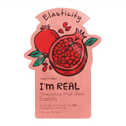 Tonymoly I`m Real Pomegranate Mask Sheet Elasticity (3 PCS)
