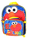 Sesame Street Elmo Large Backpack and Detachable Lunch Kit for Kids - Nice Back to School Item