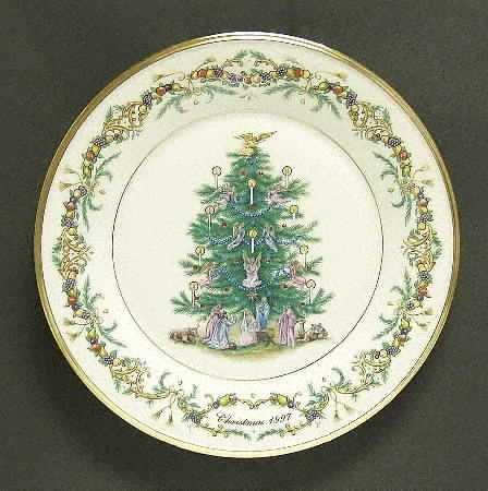 Lenox 1997 Christmas Trees Around the World Plate - Italy