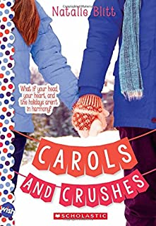 Book Cover: Carols and Crushes: A Wish Novel