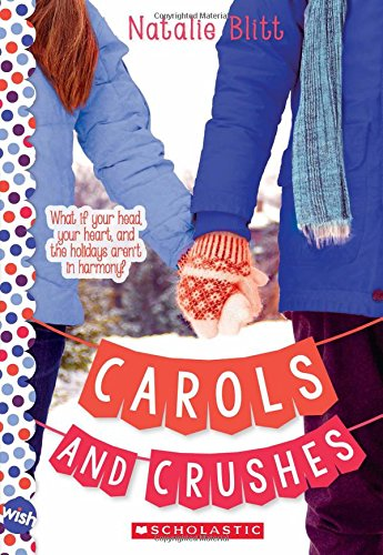 Christmas Carol Book Cover - Carols and Crushes: A Wish Novel