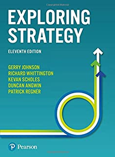 exploring strategy text and cases 11th edition pdf free download