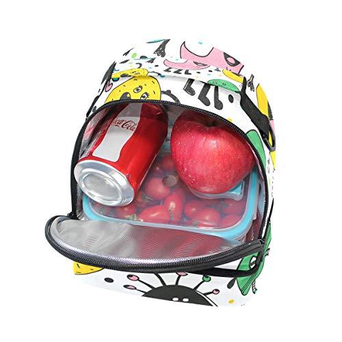 escuela con ajustable de aislamiento Alinlo la correa Bolsa para almuerzo el pincnic para hombro de con nSnRxO0