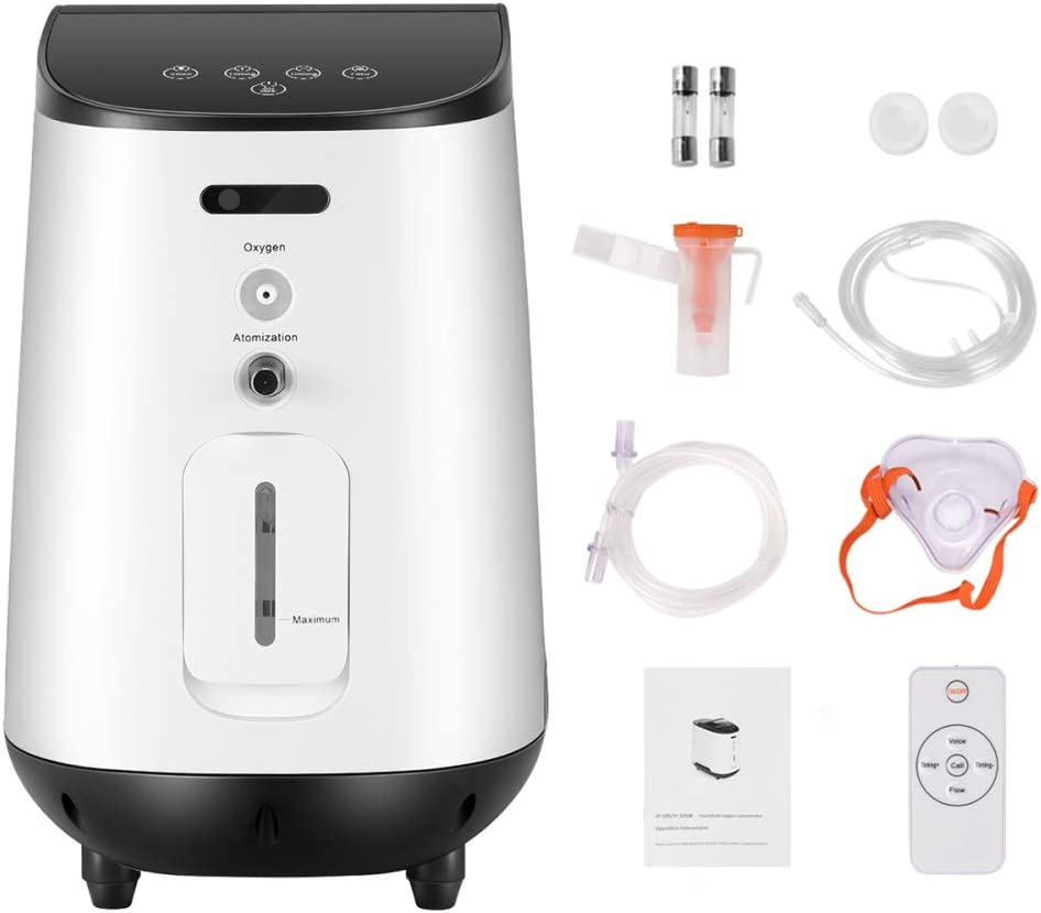 YUDING AC110V 1-7 L/min ??or??a????e ??x??ge?? c??????e??????????o?? ????????i???? with Remote for Home Travel Use