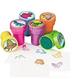 Toys : Fun Express Assorted Dinosaur Stampers - 24 Pieces