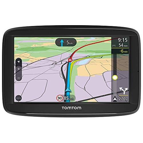chollos oferta descuentos barato TomTom Via 52 Navegador GPS 5 Pantalla Táctil Resolución de 480 X 272 Pixeles Memoria de 16 GB Ranura para Tarjeta Microsd Conector USB Negro Versión Española