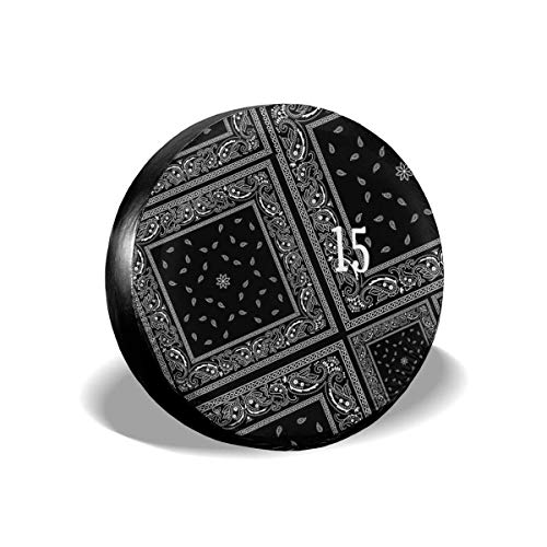 ASUIframeNJK Spare Tire Cover Young Jeezy Gangsta Party Waterproof Universal Wheel Tire Covers for RV Jeep Trailer CRV RAV4 SUV Camper (Best Young Jeezy Lines)