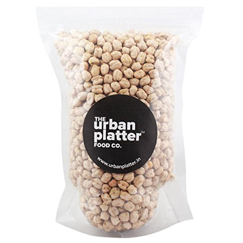 Urban Platter 1 Whole White Chickpeas (Kabuli Chana), 1Kg