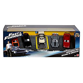 Fast & Furious Road Muscle Pack Vehicle, 5 Pack