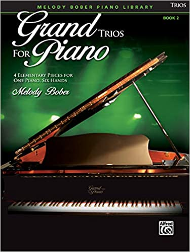 4 Elementary Pieces for One Piano Six Hands Grand Trios for Piano