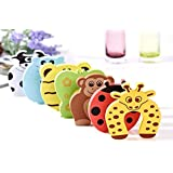 Lifestyle-You 16 Pcs Door Pinch Finger Guard Child Safety Child Proofing Accessories