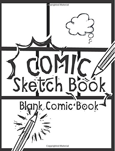 comic sketch book blank comic book create your own drawing cartoons and comics large print 85x 11 120 pages drawing comics volume 1