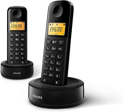 Philips D1602b 01 Dect Schnurlostelefon 2 Mobilteile Elektronik