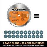 Evolution Power Tools RAGE2 Multi Purpose Cutting