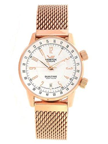 Vostok-Europe 2426/5609060 Gaz-Limo Rose Gold Watch