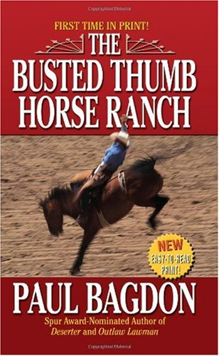 book cover of The Busted Thumb Horse Ranch
